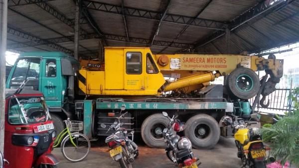 Sameera motors crane and brakedown service colombo sri for Motors used in cranes
